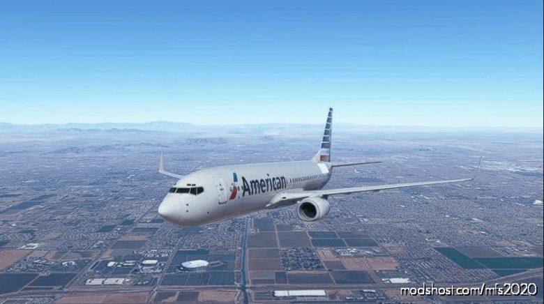 AAL 932NN for Microsoft Flight Simulator 2020