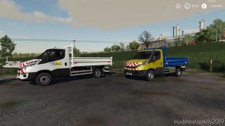 Iveco Daily Benne SDM for Farming Simulator 19