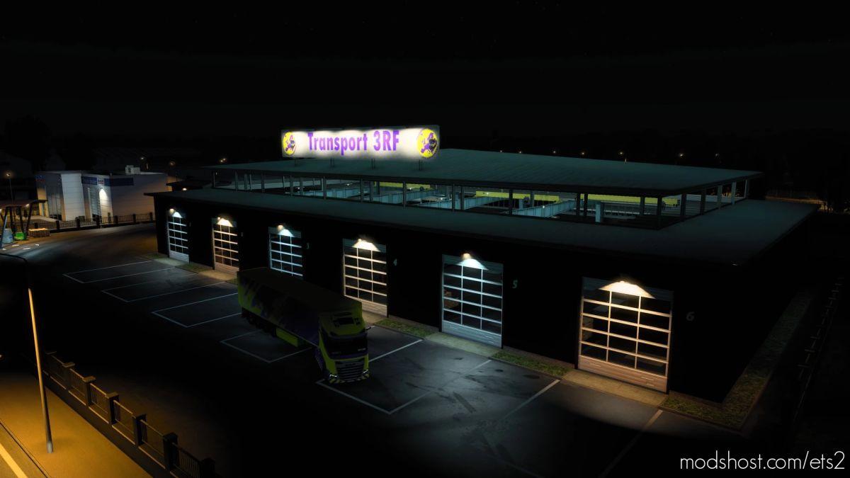 Bannière DE Garage (Transport 3RF) for Euro Truck Simulator 2