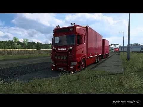 Scania S520 V8 Philip Judge Open Pipe Sound for Euro Truck Simulator 2