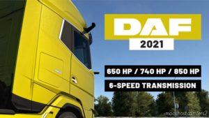 DAF 2021 Xg/Xg+ More Engines + 6-Speed Transmissions for Euro Truck Simulator 2