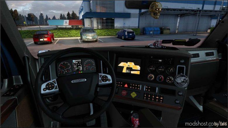 Dashboard Light Freightliner Cascadia 2019 Pack V1.1 for American Truck Simulator