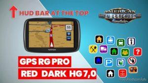 GPS RG PRO RED Dark HG V7.0 for American Truck Simulator