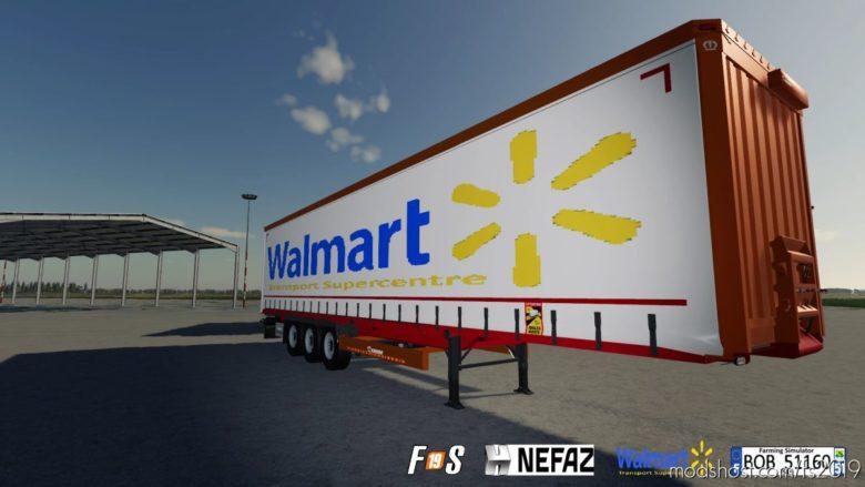 Pack Truck Trailers Walmart By BOB51160 for Farming Simulator 19