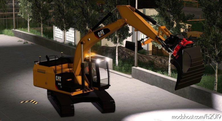 Caterpillar 311F for Farming Simulator 19