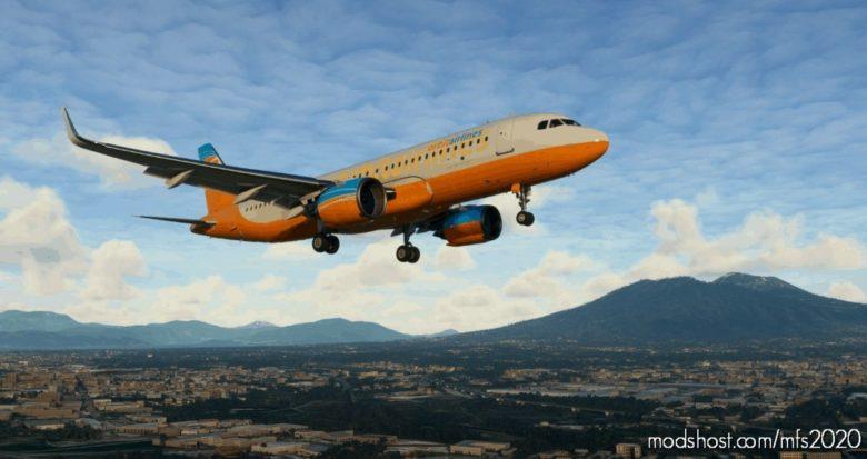 FSX Mission: Rome-Naples Airline RUN V0.9 for Microsoft Flight Simulator 2020