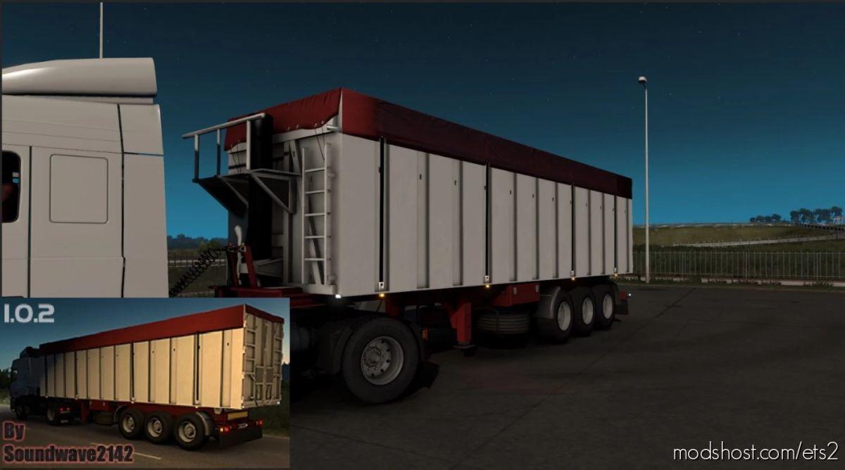 Fruehauf VFK Ownable Tipper Trailer By Soundwave2142 [1.40 – 1.41.X] for Euro Truck Simulator 2