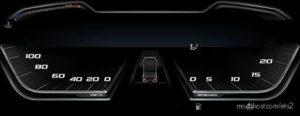 High Quality Dashboard – DAF 2021 XG & XG+ V1.1 for Euro Truck Simulator 2