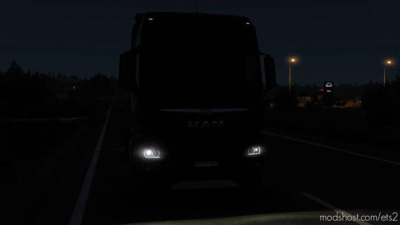 Angel Eyes For ALL Trucks for Euro Truck Simulator 2
