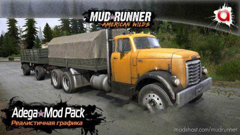Realistic Graphics Adega Mod Pack V4.5Fin + SP for MudRunner