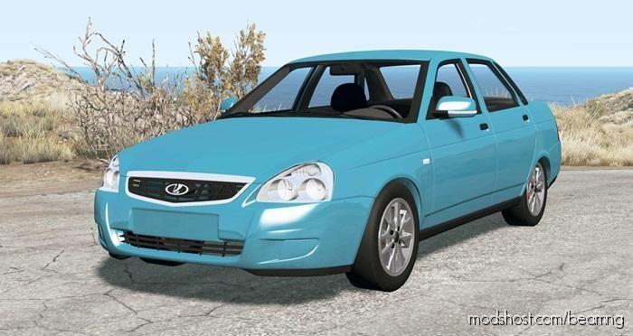 Lada Priora (2170) 2013 V3.0 for BeamNG.drive