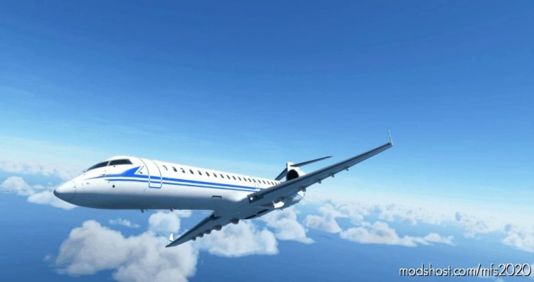 CRJ700 China Peoples Liberation Army Navy 8K for Microsoft Flight Simulator 2020