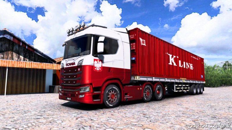 Scania S520 V8 Philip Judge Open Pipe Sound Mod [1.40] for Euro Truck Simulator 2