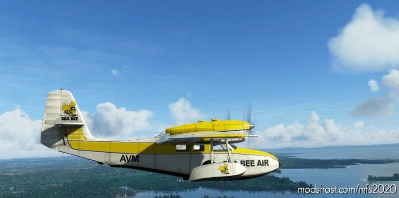 Grumman G44A Widgeon Zk-Avm SEA BEE AIR for Microsoft Flight Simulator 2020