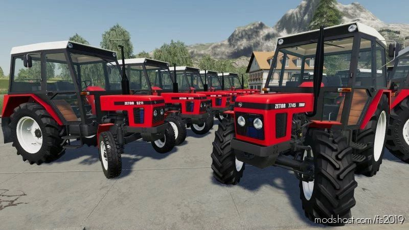 Zetor 5211-7745 Turbo for Farming Simulator 19