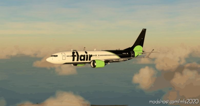 Flair Airlines Boeing 737 MAX – (10K*5K) for Microsoft Flight Simulator 2020