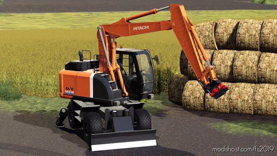 Hitachi 145W V2.0 for Farming Simulator 19