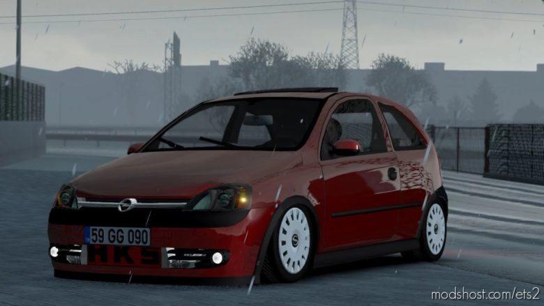 Opel Corsa C V1R60 [1.40] for Euro Truck Simulator 2