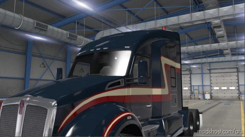 Kenworth T680 NEW Mirrors for American Truck Simulator