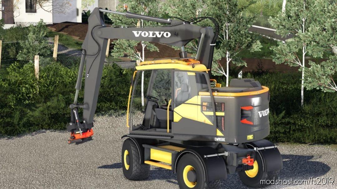 Volvo EWR150 V2.0 for Farming Simulator 19