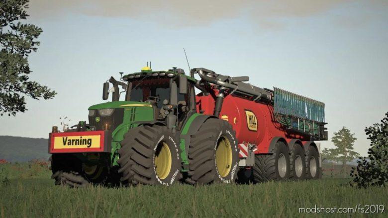 John Deere 6R Edit By Slajmon for Farming Simulator 19