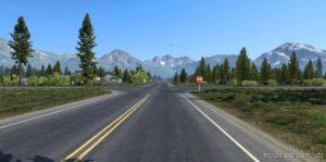 Route Alaska for American Truck Simulator