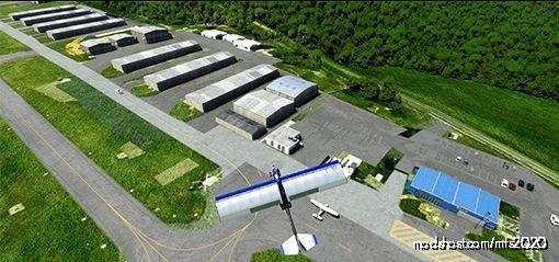 Kmtv – Blue Ridge Regional Airport, Horsepasture, VA (Martinsville, VA) for Microsoft Flight Simulator 2020