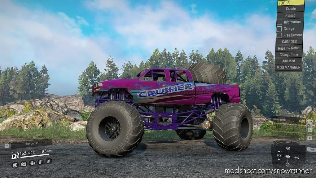 Monster Truck V for SnowRunner