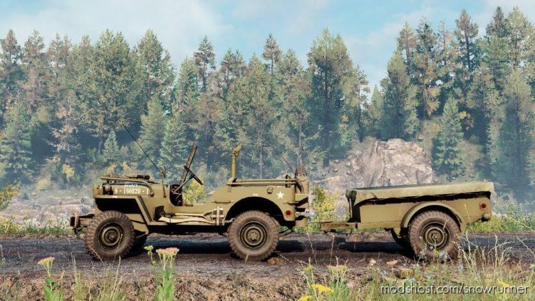 1942 Willys MB V for SnowRunner