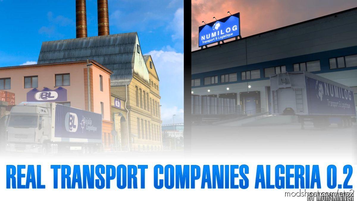 Real Transport Companies Algeria V0.2 for Euro Truck Simulator 2