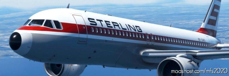 Sterling Airways Oy-Sas 8K for Microsoft Flight Simulator 2020