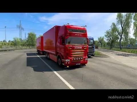 Scania V8 Philip Judge Open Pipe Sound V2.0 for Euro Truck Simulator 2
