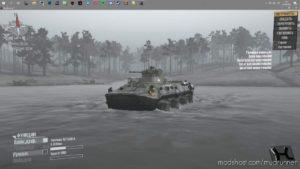 Floating Btr-4E / 82A Mod for MudRunner