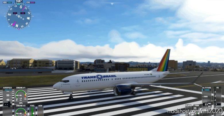 737-Transbrasil for Microsoft Flight Simulator 2020