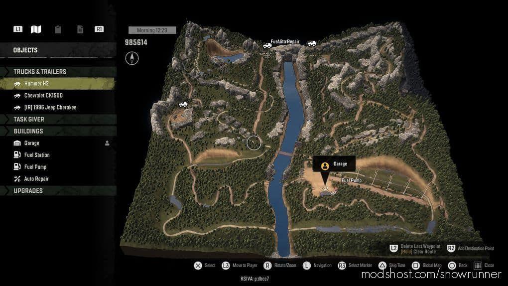 Rocky Mountain Offroad Park V4.20 for SnowRunner