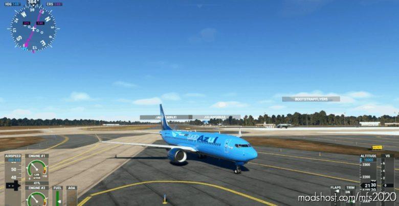 737-Tudo Azul for Microsoft Flight Simulator 2020