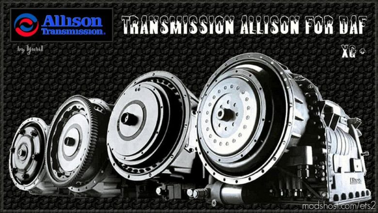 Transmission Allison For DAF XG for Euro Truck Simulator 2