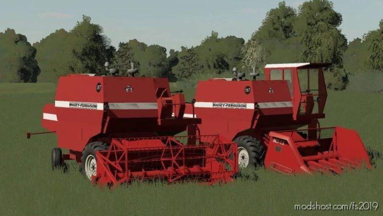 Masey Ferguson 187 Poprawka for Farming Simulator 19