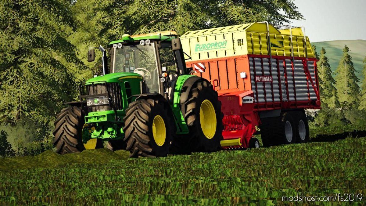 John Deere 7530 By Slajmon for Farming Simulator 19