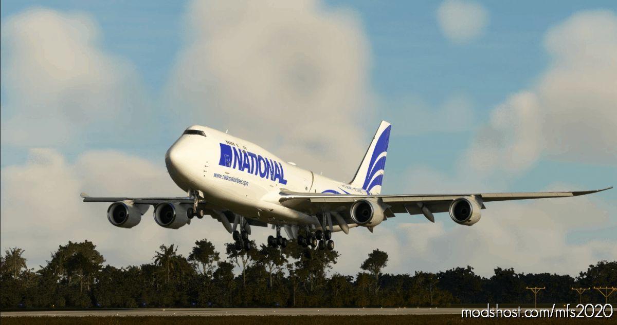 National AIR Cargo [NO Mirror] for Microsoft Flight Simulator 2020