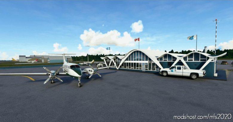 Cyrq Trois-Rivieres Airport for Microsoft Flight Simulator 2020
