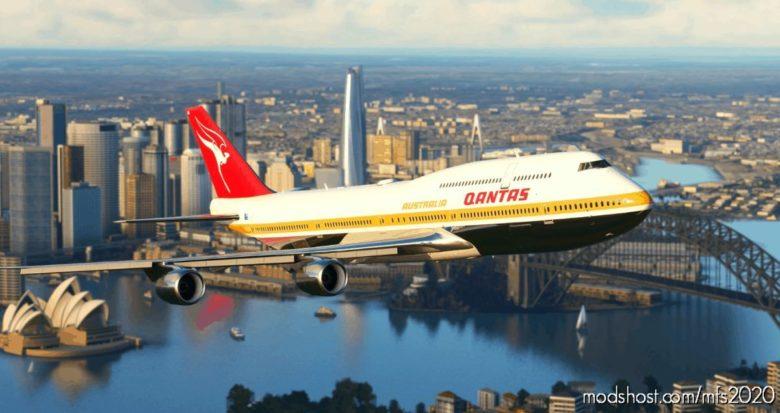 Qantas 1971 Vh-Eba Ultra [NO Mirroring] for Microsoft Flight Simulator 2020