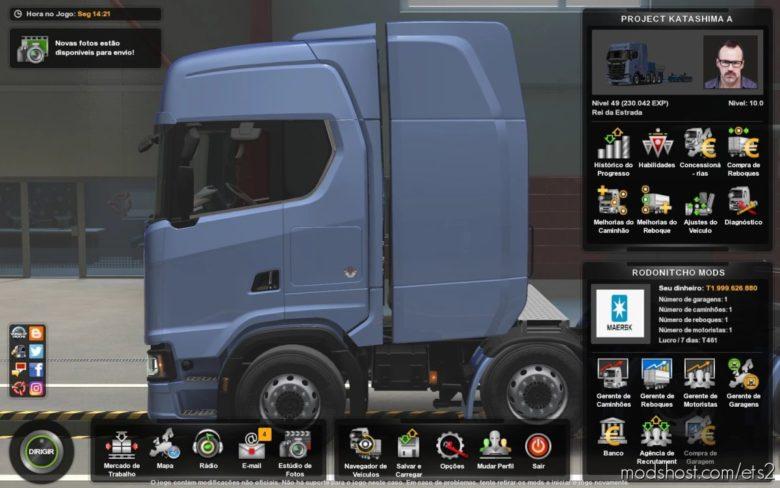 Profile Project Katashime A Tanzanian Map By Mimi Pekee [1.40] for Euro Truck Simulator 2