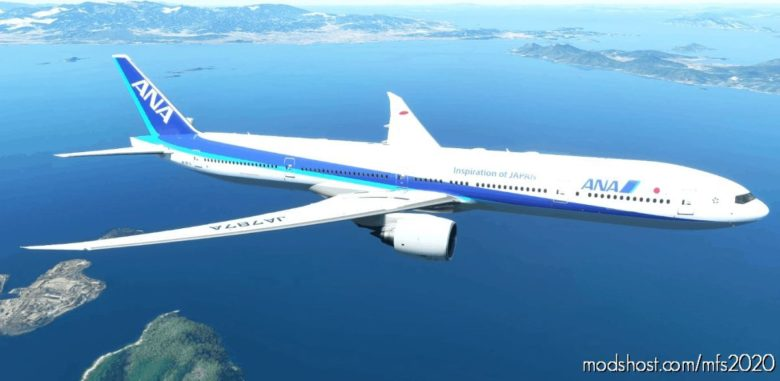 ALL Nippon Airways Captainsim 777-300ER 8K V1.2 for Microsoft Flight Simulator 2020