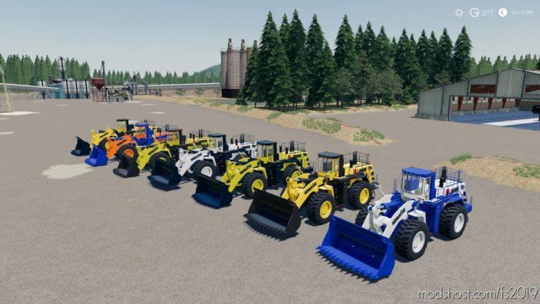 Komatsu WA-900 Mining Loader for Farming Simulator 19