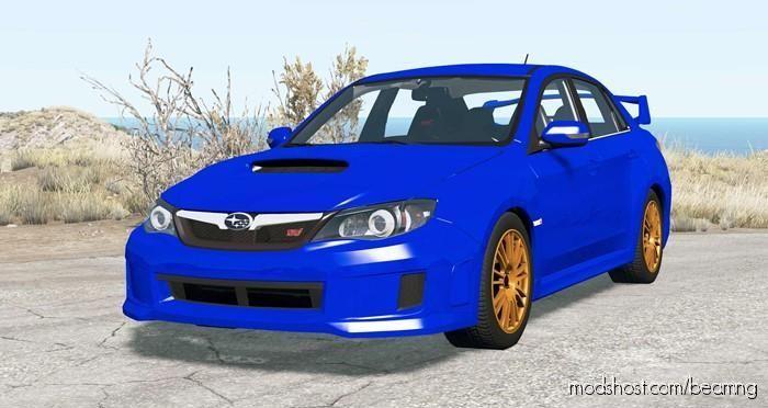 Subaru Impreza WRX STI Sedan 2010 for BeamNG.drive