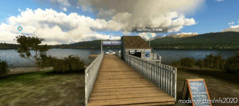 Lake TE Anau Seaplane Base for Microsoft Flight Simulator 2020