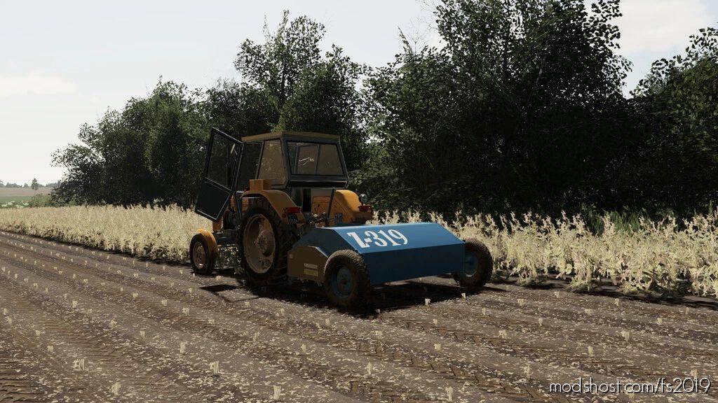 Lizard Z-319 for Farming Simulator 19