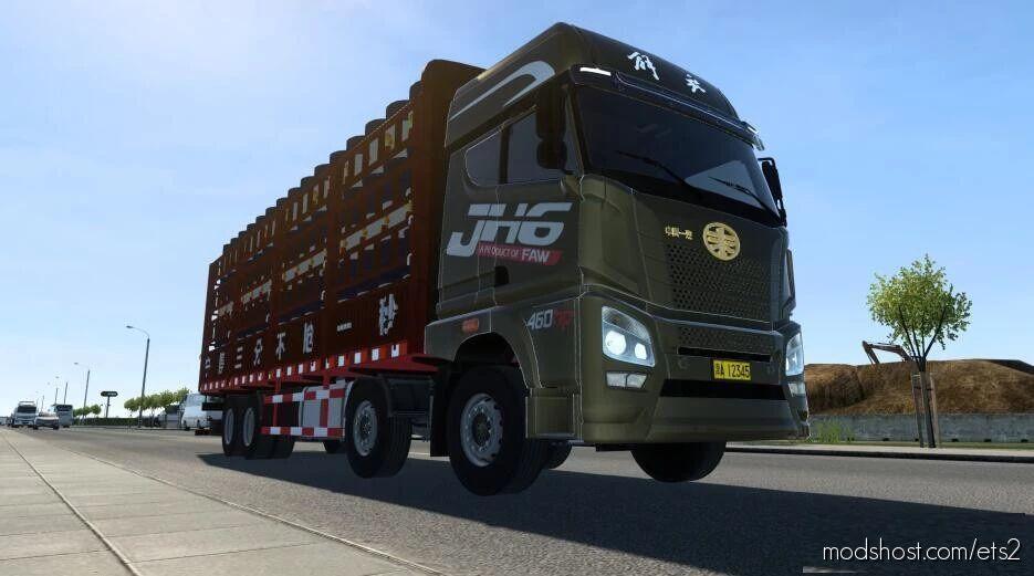 China FAW JH6 460 [1.41.X] for Euro Truck Simulator 2