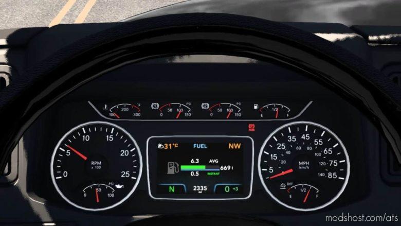 International Lonestar Customised Dashboard for American Truck Simulator